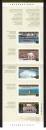 miniature Canada 2003 carnet tarif international Attractions touristiques 5 timbres **