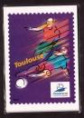 miniature France 1996  PAP Lot de 4 CP football 98 neuf sous blister