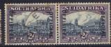 AFRIQUE DU SUD 1930-34 Service N°  20 et 26 se tenant
