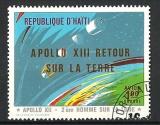Haïti - Poste Aérienne (obl) -  Apollo XIII retour sur la terre - année 1971