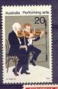 miniature Australie YT 608 Obl Art musique Violoniste
