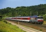 miniature ACACF 095 - Train Le GOETHE - loco BB 15033 dans la rampe de LOXEVILLE - Meuse 55  - SNCF