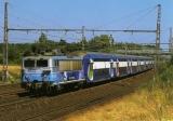 miniature ACACF 096 - Train - loco BB 8588 vers RAMBOUILLET - Yvelines 78 - SNCF