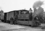 miniature ACACF 104 - Train - loco Blanc-Misseron 030 T n° 119 en gare - Non localisée - Sarthe 72 - TS