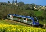 miniature ACACF 106 - Autorail X 72517 vers Salan commune de QUINS - Aveyron 12 - SNCF