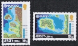 miniature Jersey 272 à 275 faits historiaues europa 1982 neuf ** luxe MNH sin charnela cote 3.5