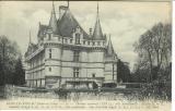 miniature Cpa  37 Azay le Rideau , le château ,  écrite 1915