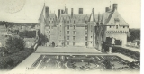 miniature Cpa  37 Langeais , le château façade intérieure ,   écrite 1912
