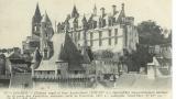 miniature Cpa  37 Loches , le château et tour Agnès Sorel ,  non écrite