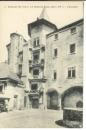 miniature Cpa  49 Saumur , le château le grand escalier , non écrite