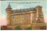 miniature Cpa  49 Saumur , le château  , non écrite