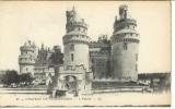 miniature Cpa  60 Pierrefonds , le château  , non écrite