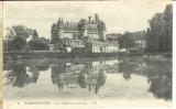 miniature Cpa  60 Pierrefonds , le château et le lac , non écrite