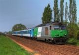 miniature ACACF 334 - Train - loco BB 67450 vers LAIGNE SAINT-GERVAIS - 72 - SNCF