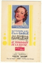 carte parfumée Rare Mon Tourment de Coryse Salomé ( photo de Joan Crawford )