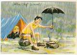 miniature cpm  Carrière série Camping  Alors chef ,ça vient ?