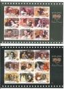 miniature Inde 2013 YT 2503-2543 MNH 6 Feuillets 100 ans Cinema indien Acteurs