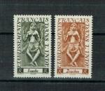 miniature 126583 - Colonie Inde - 1948 - Y&T N° 236 & 237 Neuf **