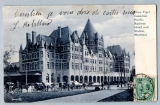 miniature MONTREAL - PLACE VIGER, CANADIAN PACIFIC RAILWAY HOTEL AND STATION ( gare )