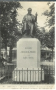 miniature Cpa 80 Abbeville , monument de Boucher de crèvecoeur de Perthe ,  voyagée 1917