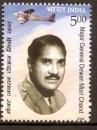 miniature Inde 2009 MNH Major General Dewan Misri Chand Aviation