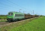 miniature RU 0522 - Train - loco BB 36053 vers VILLEGUSIEN LE LAC - 52 - SNCF -
