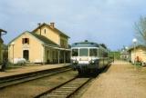 RU 0524 - Autorail X 2816 en gare - MAURIAC - 15 - SNCF -