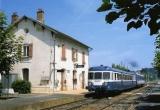 miniature RU 0528 - Autorail X 2879 en gare - MAURS - 15 - SNCF -