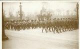 miniature CPA Funérailles du Maréchal Foch 1929 , ww1 , Délégations militaires américaine et anglaise