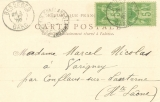 miniature Cpa Bébé , écrite 1900