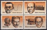 miniature Etats-Unis 1983 - Inventeurs   (g1836)