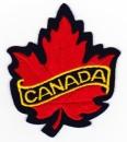 Canada Écusson à coudre ou à coller au thème de la feuille d'érable