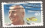 miniature USA 1991 YT PA 122 Obl Aviateur William T Piper