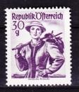miniature Autriche - 1958-59  Y & T  n°  886  Costumes régionaux