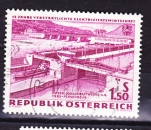 miniature Autriche - 1962  Y & T  n°  943   15 ème anniversaire nationalisation de l'electricité