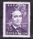 miniature Autriche - 1962  Y & T  n°  948   Centenaire de la mort de Johann Nestroy