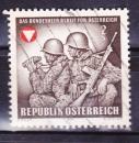 miniature Autriche - 1969  Y & T  n°  1123   Armée fédérale