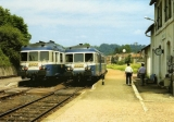 miniature RU 0623 - Autorail X 2899 en gare - CHAMPAGNAC LES MINES - 15 - SNCF