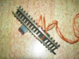 JOUEF Rail droit 1 coupure avec borne d'alimentation