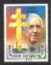 HAUTE VOLTA N° 413° Géneral DE GAULLE