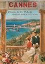 cpm Repro affiche Chemins de Fer  06 Cannes