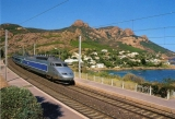miniature Baliziaux 00559 - TGV Sud-est en gare - ANTHEOR - Var 83 - SNCF