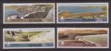 miniature SERIE NEUVE DU SUD OUEST AFRICAIN - CONSERVATION DE L´EAU : BARRAGES DIVERS N° Y&T 453 A 456