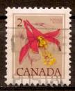 Canada 1977 YT 626 Obl Fleur sauvage Ancolie de l'ouest