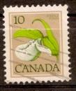 Canada 1977 YT 630 Obl Fleur sauvage Cypripede de passereau