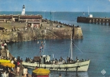 (76)-LE TREPORT - Vedette - promenade en mer -non circulée-edit:cie des arts- n° 70