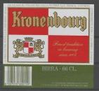 Etiquette de Bière - Italie - Kronenbourg - 66 cl - cote barre