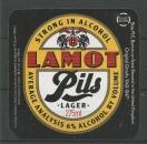 Etiquettes de Bière - Grande Bretagne - Strong in Alcohol LAMOT Pils Lager - 275 ml