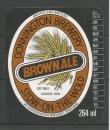 Etiquettes de Bière - Grande Bretagne - Donnington Brewery - Brown Ale - 264 ml