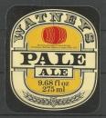 Etiquettes de Bière - Grande Bretagne - Watneys Pale Ale - 9.68 fl oz 275 ml